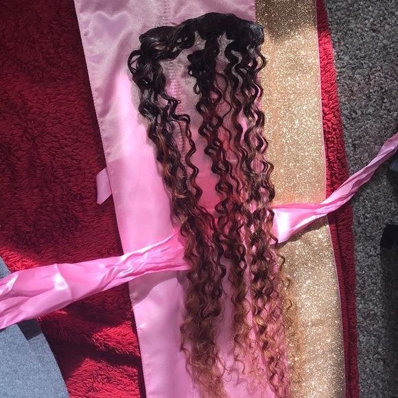 Bella Curls Other Clip Inhair Extensions Whair Safe Bby Pink Go